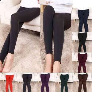 Cashmere Legging Thick High-Waist Women's New-Fashion Plush All-Match Solid