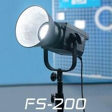 Nanlite Nanguang FS 200 FS 200W LED צילום אור 5600k מקצועי חיצוני Monolight FS200 Strobe מנורה