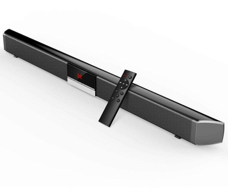 Home cinéma sans fil Bluetooth 5.0 haut-parleurs 40W barre de son TV avec télécommande
