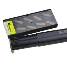 1Pc MGIVR3125 1.5/2/2.5/3/4/5 Grooving Tool Houder Mgmn Carbide Insert Mgivr Rechte Schacht Interne Draaigereedschap Draaibank Bar