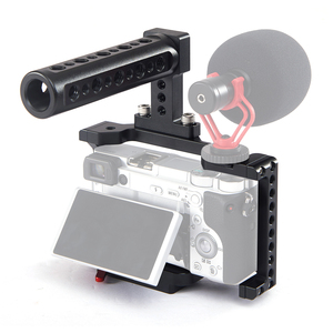 Image 1 - Andoer Camera Cage Video Stabilizer with Detachable Quick Release Plate Cold Shoe Mount for Sony A6500/A6400/A6300/NEX7 Camera