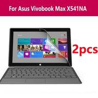 세트 새로운 도착 노트북 컴퓨터 지우기 모니터 화면 보호기 hd 스티커 필름 아수스 vivobook 최대 x541na에 대한 노트북 커버