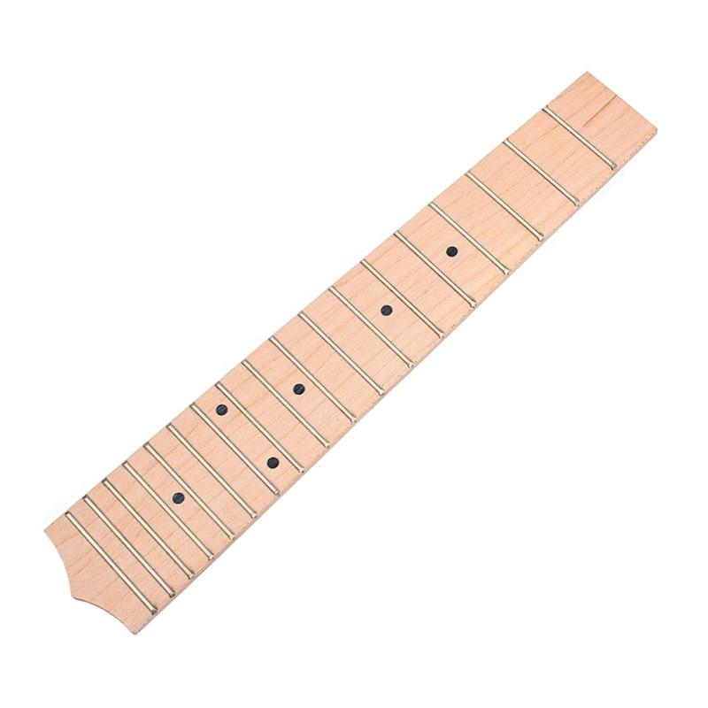 ABUO-26 Inch Ukulele Fretboard With 18 Frets For Concert Ukulele Guitar Replacement