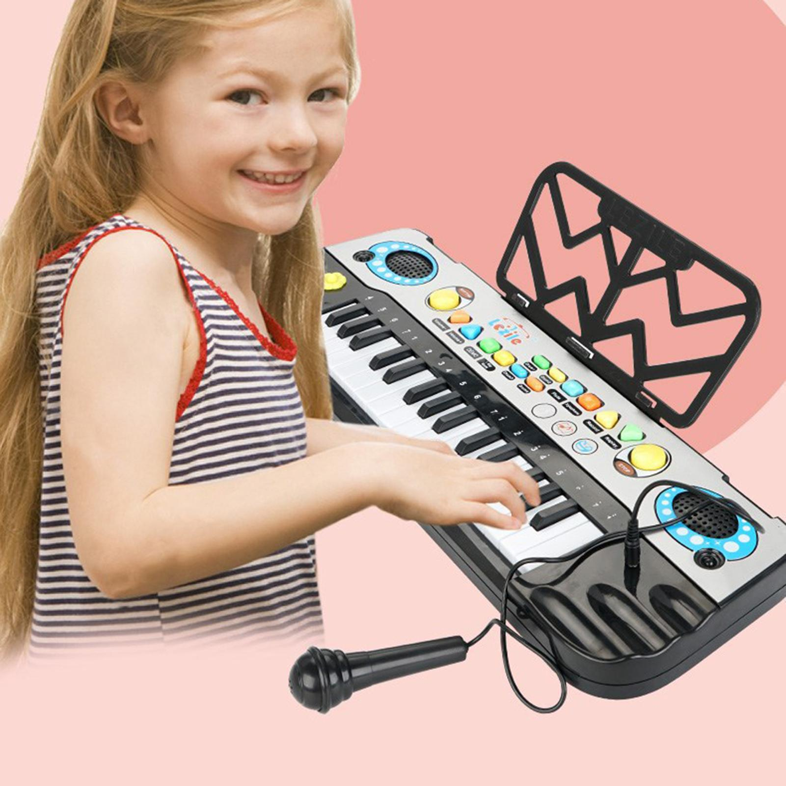 3202A Electronic Piano 32-Key Multifunctional Musical Toys for Beginners Gift