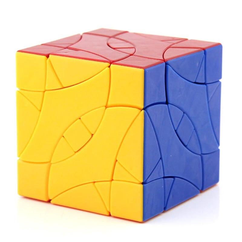 DaYan BiYiNiao Lovebirds 12 axes 3 rang Cube magique biaisé vitesse professionnelle torsion Puzzle Antistress jouets éducatifs pour les enfants - 4