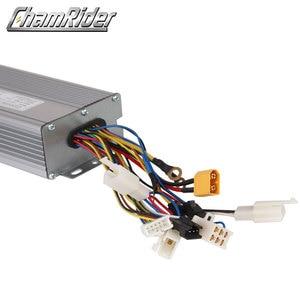 Image 4 - Ebike 48v 1000w 40a controlador sem escova da bicicleta elétrica onda senoidal salão sensor kt série suporte led lcd