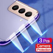Закаленное стекло для камеры Samsung Galaxy S21 Plus 3 шт., Защитная пленка для экрана объектива S20, S10, S9 Plus, S10E, S20 FE, стеклянная пленка для камеры