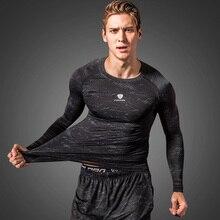 Sportswear Compression-Shirt Football-Jersey Rashgard Sport-Tight Long-Sleeves Fitness