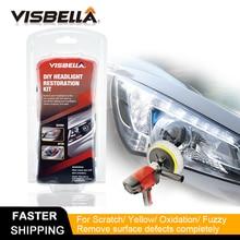 Visbella Car Headlamp repair headlight restoration polishing Renewal agent bright white for Toyota headlight Cleaner Hand Tool