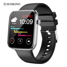 SENBONO Smart Uhr Männer IP67 Wasserdichte Life1 Uhr Fitness Tracker Blutdruck Dials Sport Frauen Smartwatch für Android IOS
