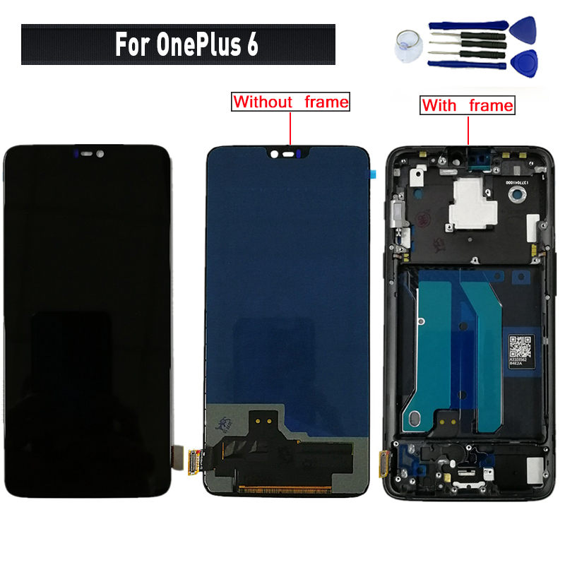 For <font><b>OnePlus</b></font> 6 <font><b>A6000</b></font> display lcd <font><b>Screen</b></font> replacement for <font><b>OnePlus</b></font> 6 <font><b>A6000</b></font> lcd display <font><b>screen</b></font> digitizer module image
