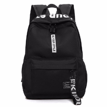 2019 New Teenagers School Bag Men Women Nylon Backpack Laptop Boys Girls Backpacks black pink backpack