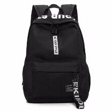 2019 New Teenagers School Bag Men Women Nylon Backpack Laptop Boys Girls Backpacks black pink backpack