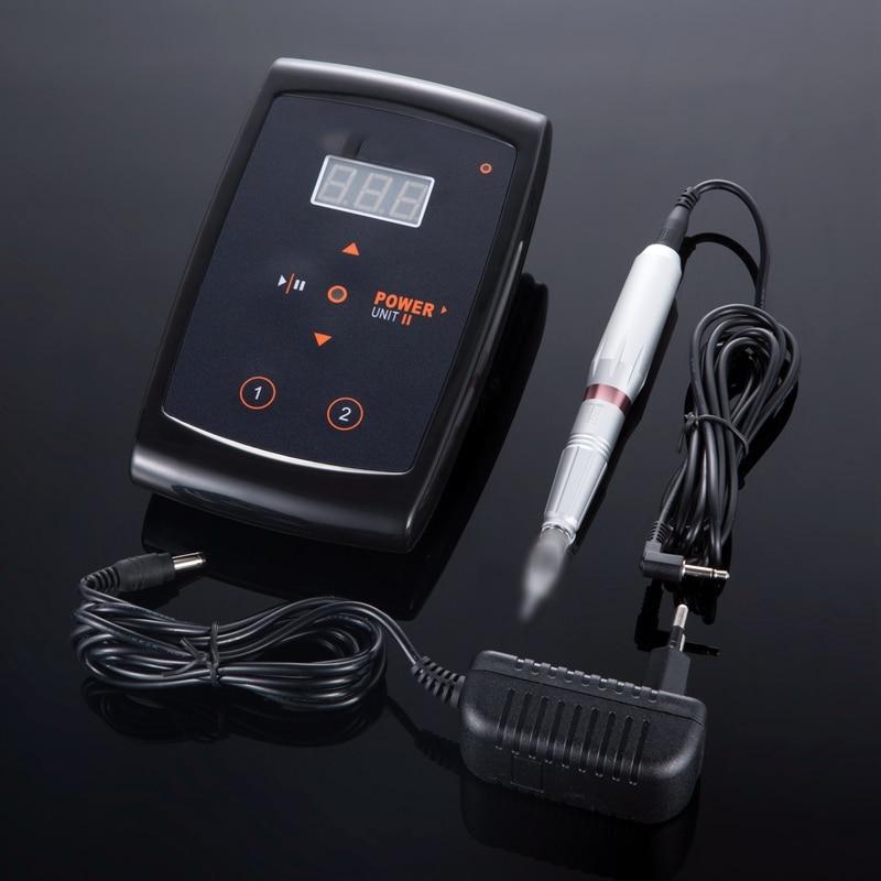 Tattoo Gun Dermograph Eyebrow Tattoo Machine Pen For Permanent Make Up Eyebrows Microblading Makeup Machine Kit Swiss Motor.