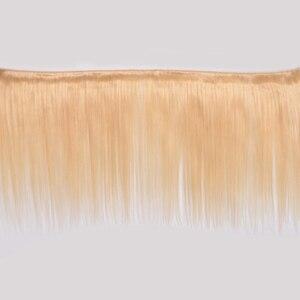 Image 2 - VIOLET Peruvian Straight 613 Blonde bundle Medium Ratio 8 26 Non Remy Human Hair Weave Tissage Blond Honey Hair 3/4 bundle Deal