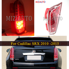 For Cadillac SRX 2010 2011 2012 2013 2014 2015 Rear Tail light taillights assembly Rear Brake Light Fog lamp Bumper Light new for vw polo 2010 2011 2012 2013 right side led tail light rear light 6r0945096