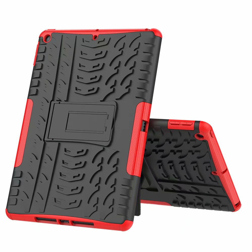Shockproof Child iPad Apple Hybrid-Armor Case-Cover Defender Kids for Heavy-Duty Rugged