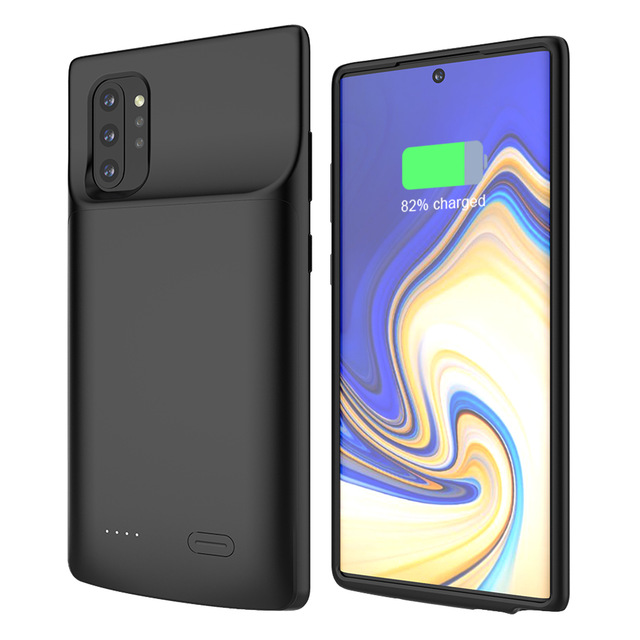Battery Charger Case For Samsung Galaxy Note 10 Plus 5G 6000nAH For Samsung Note10 5200nAH Anti fall Portable Battery Back Cover