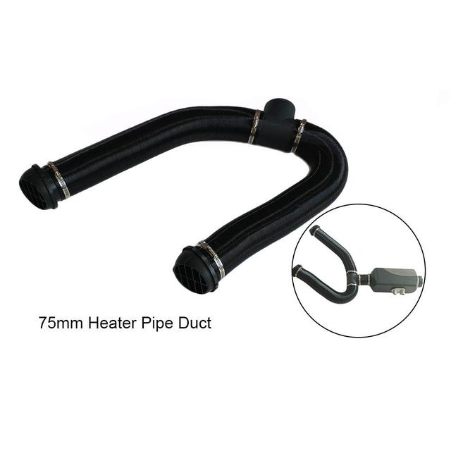 Parking Air Heater Heating Pipe Catheter 75mm Diesels Heater Ducting Air Pipe Hose for Car Heater Accessories