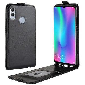 Чехол для телефона Huawei Honor 10 Lite 10 lite, откидная задняя крышка из искусственной кожи для Huawei Honor 10 Lite, чехол для смартфона, чехол