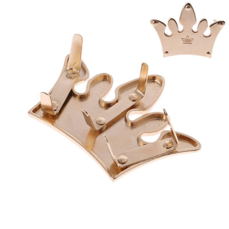 58.7x42mm Crown Metal Bag Decoration for DIY Craft Handbag Shoulder Bags Hardware Accessories