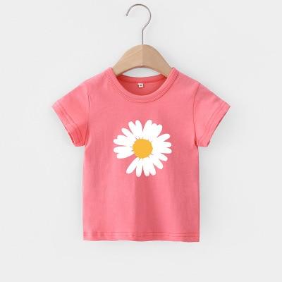 Hbd4b849021904cd2af26501c502d536cc VIDMID Baby girls t-shirt Summer Clothes Casual Cartoon cotton s tees kids Girls Clothing Short Sleeve t-shirt 4018 06