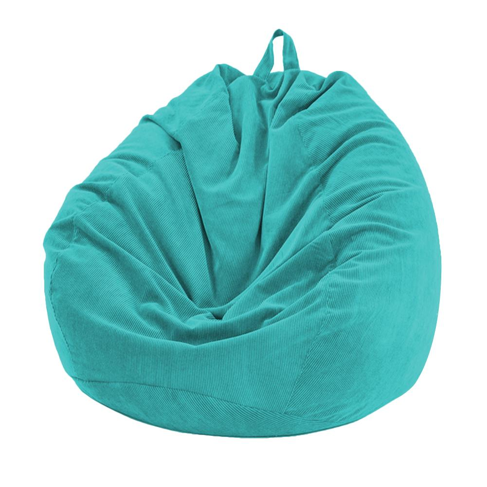 Lazy BeanBag Sofas Cover Chairs without Filler Soft Removable Corduroy Lounger Seat Bean Bag Pouf Puff Couch Tatami Living Room 3