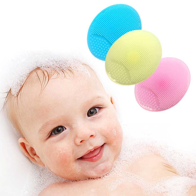 1 piezas cepillo de limpieza Facial de silicona LAVADO DE Blackhead cara exfoliante cepillos de limpieza Facial de bebé/niños baño ducha TSLM1