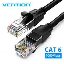Câble Ethernet Vention Cat6 câble Lan UTP RJ45 câble de raccordement réseau 10m 15m pour PS ordinateur Modem routeur chat 6 câble Ethernet