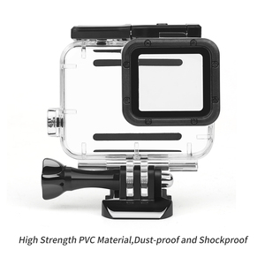 Image 2 - SHOOT 45m boîtier étanche sous marin pour GoPro Hero 7 6 5 noir boîtier de protection de plongée monture pour Go Pro 7 6 5 noir accessoire