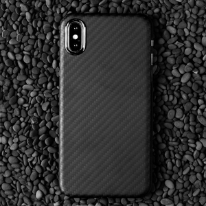 Image 4 - Carbon Fiber Case for iPhone 11 Pro Max X XS Max Case Ultrathin Slim Back Cover Glossy Red Matte Black for iPhone XS Max 11 Pro