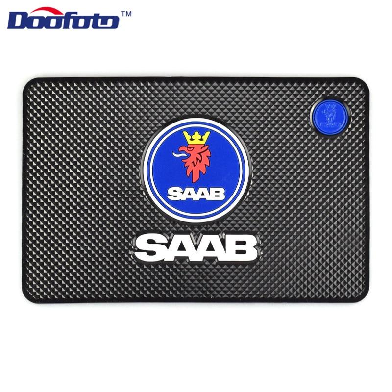 Doofoto Car Anti Slip Mat Interior Accessories Styling For SAAB 9-3 93 9-5 9 3 9000 5 Non Dashboard Pad