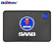 Doofoto Car Anti Slip Mat Interior Accessories Styling For SAAB 9-3 93 9-5 9 3 9000 5 Non Dashboard Pad