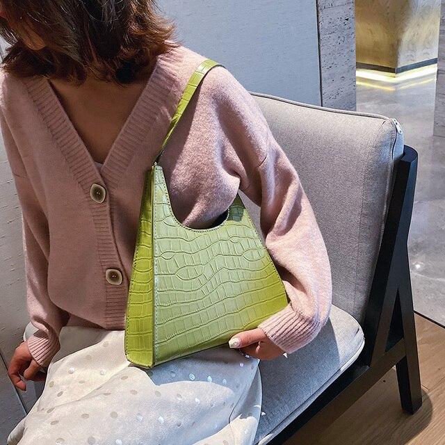 Alligator Flap Fashion Bag 4