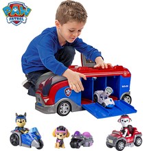 Toy Birthday-Toy Paw Patrol Movable-Doll Gift Anime S Rescue Ryder Marshall Car Patrulla-Canina