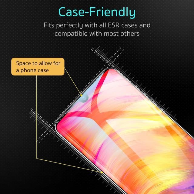 ESR Tempered Glass For Xiaomi 6 Redmi Note 7 Pro MIX 2 2S 3 Screen Protector HD Anti Blue-Ray Cover Protective Phone Film Xiami 2