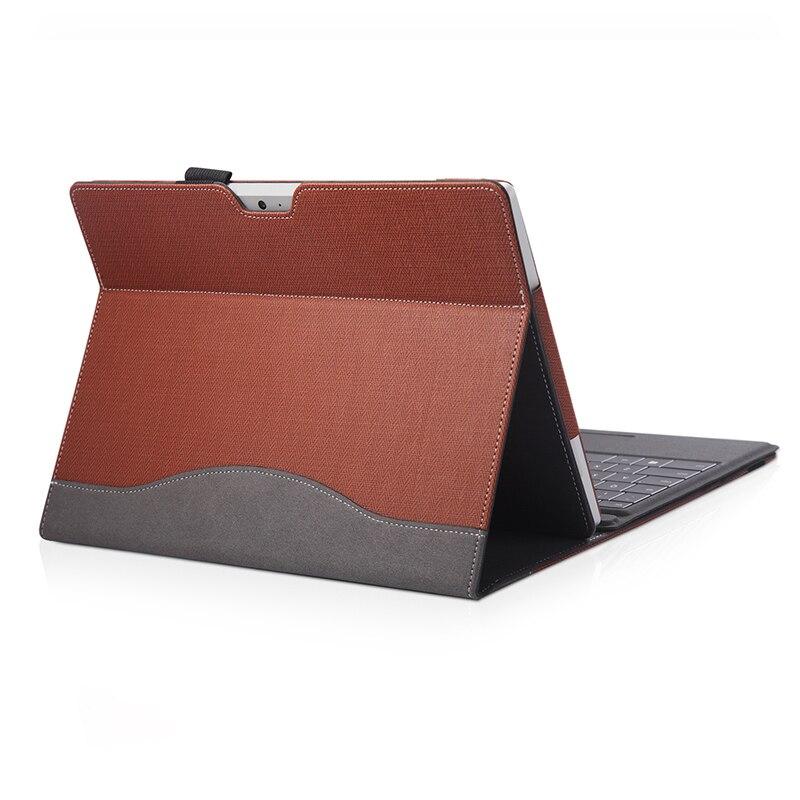 Nouvelle pochette pour ordinateur Portable pour Microsoft 2018 Surface aller 10 pouces pliant Portable support tablette PC coque de protection en cuir PU couverture cadeaux