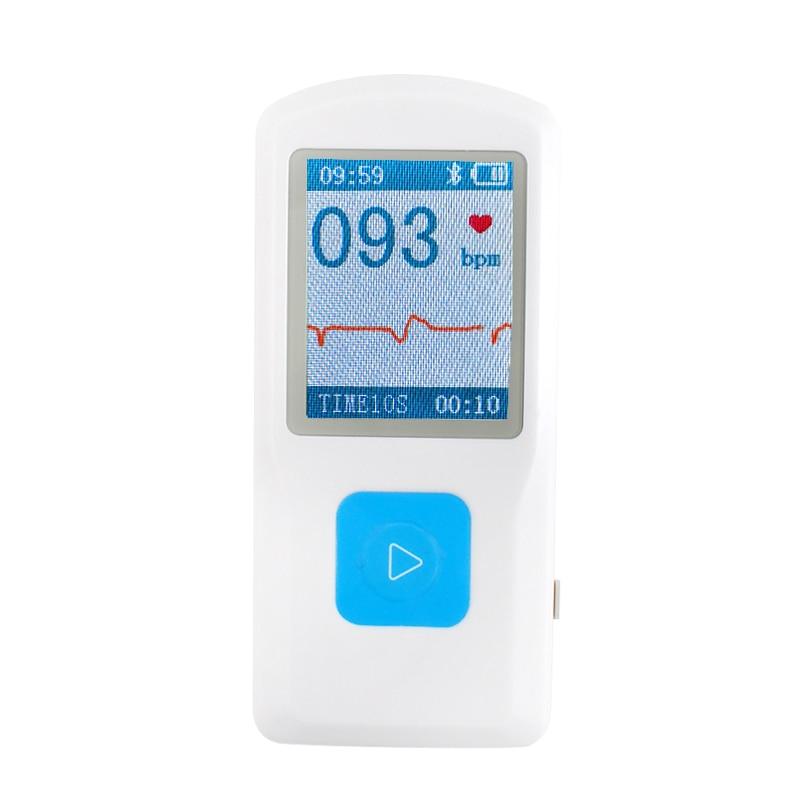 PM10 Tragbarer EKG EKG Maschine Herzschlag Monitor, USB, Bluetooth, LCD 600051