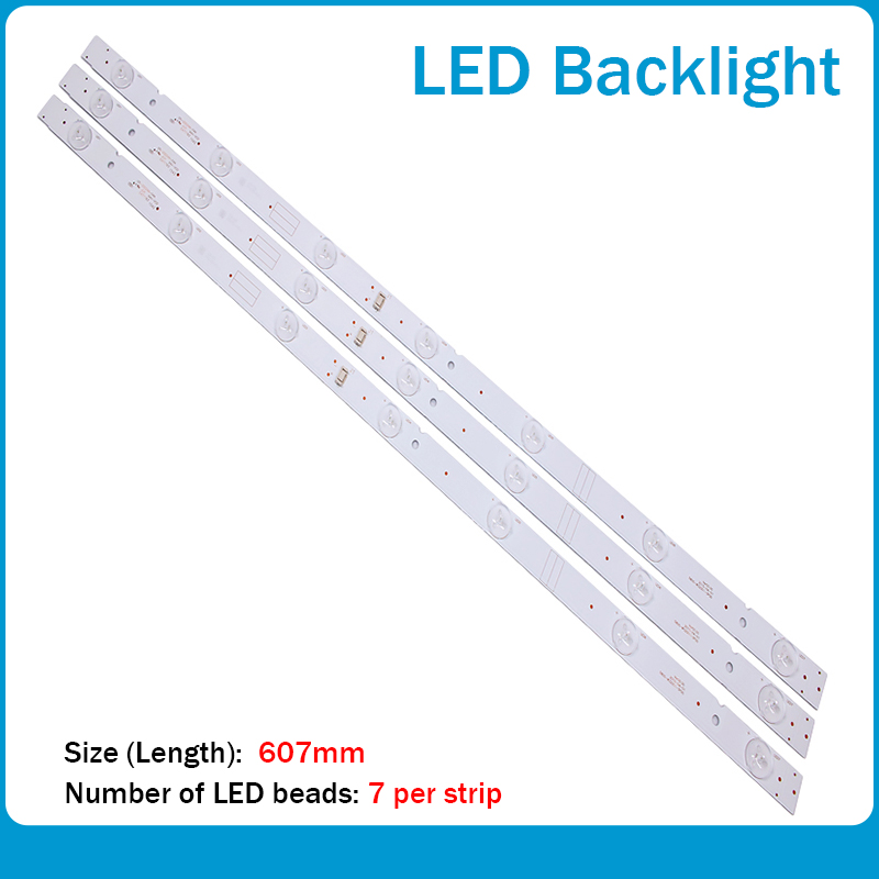 32inch LED Backlight Strip 7LED 5800-W32001-3P00 For LC320DXJ-SFA2 RDL320HY(BDO-902) SRT 32HX4003 32E3000 32E3500
