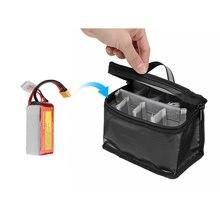 Пожаробезопасный водонепроницаемый чехол для lipo батареи 155*120*90