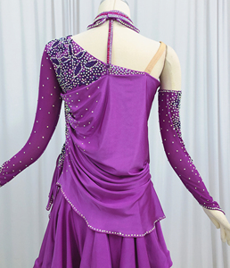 Image 4 - Latin Dance Skirt Adult High Quality Stage Tango Rumba Samba Costume Ladys Latin Competition Dancing Dress