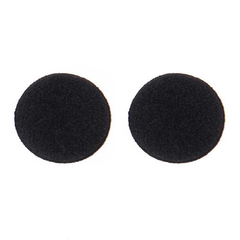 Wymienne słuchawki w miękkiej gąbka piankowa łożyska słuchawki obejmuje czarny