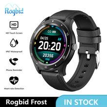 Rogbid Мороз Смарт часы 2020 Водонепроницаемый монитор сердечного