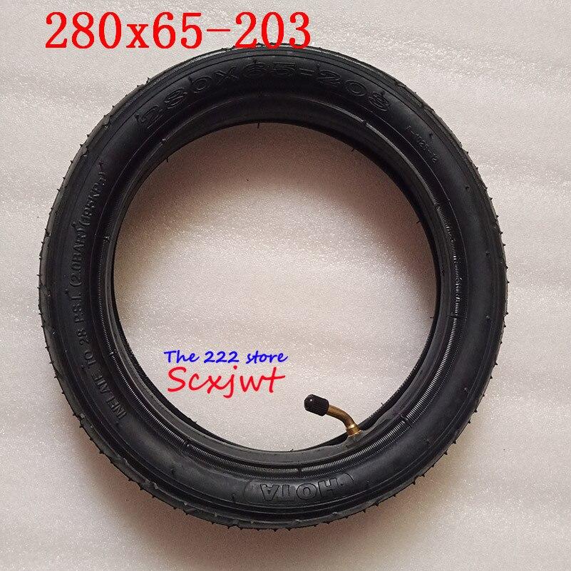 Frete grátis 280x65-203 polegadas pneus 280x65-203 carrinho de criança/push chair/basculador frente e traseiro pneu tubo interno