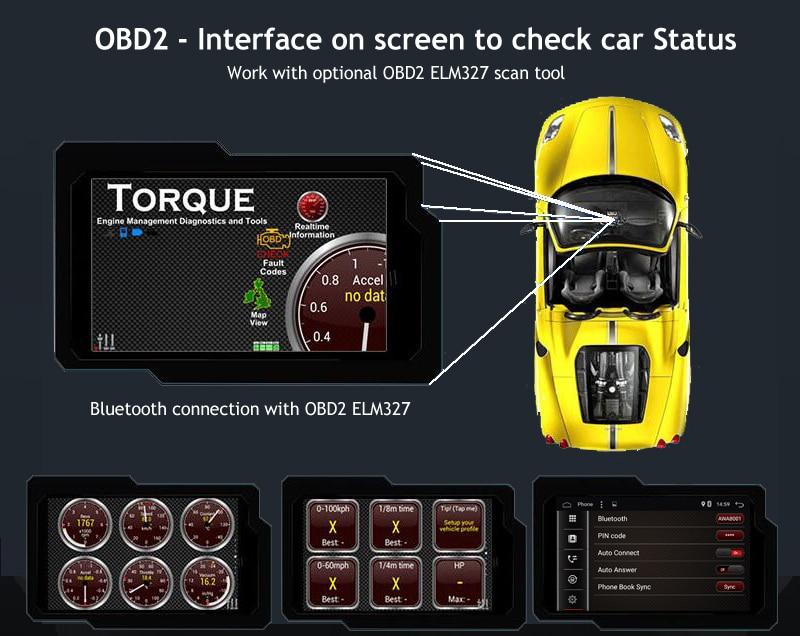 ANDROID9.0 CAR RADIO GPS 1din FIAT PUNTO LINEA 2012 2011 2008 2014 2013 2015 2016 RADIO GPS (5)