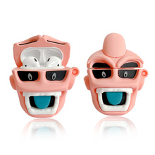 Case for Airpods 2 Bluetooth Earphone Case for Airpods Pro Accessories Protective Cover Cute Silicone Dragon Ball Buu Keychain finn jake bmo cartoon bluetooth earphone case for airpods 1 2 3 cute protective cover for airpods pro accessories with keychain