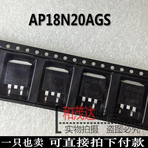 10 шт./лот новые оригинальные AP18N20AGS 18N20AGS до-263 в наличии