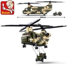 Militar da força aérea transporte helicóptero black hawk blocos de construção define soldados do exército diy kit tijolos juguetes crianças brinquedos