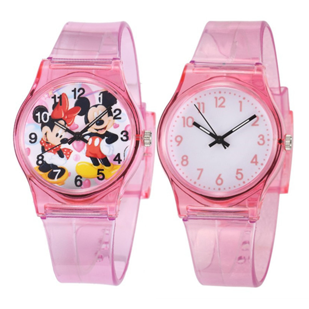 30M Waterproof Children's Watch Casual Transparent Watch Jelly Kids Boys Watch Girls Wrist Watches Clock Relogio Erkek Kol Saati