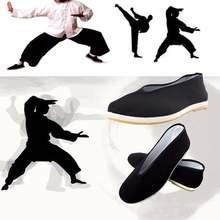 Качественная черная хлопковая обувь Мужская Традиционный китайский